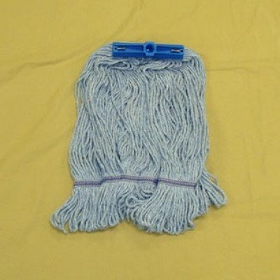 Blue Synthetic Daily Scrubbing Mop