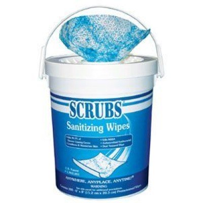 Antimicrobial Hand Sanitizing Wipe Tubs