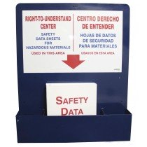 """SDS Center Bilingual with Binder 30"""" X 24"""""""