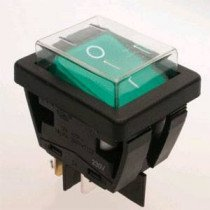 Green Rocker Switch